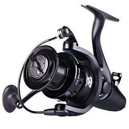 Sougayilang Spinning Fishing Reel,12+1BB Metal Body Smooth,