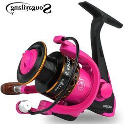 Sougayilang Spinning Fishing Reel 3000 Series 12BB Metal Coi