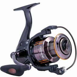 Spinning Fishing Reel Ultra Smooth Shielded Bearings Light W