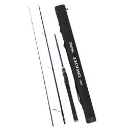 Goture Spinning Fishing Rod 3-Section Carbon Fiber Travel Ro