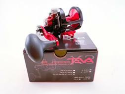 Avet SX 6/4 Raptor 2-Speed Lever Drag Casting Reel Black
