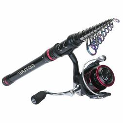 Goture Telescopic Fishing Rod and Reel Combo 1.8M-3.6M Spinn