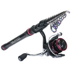 Goture Telescopic Fishing Rod Combo 1.8M-3.6M Spinning Rod R