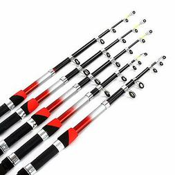 TELESCOPIC FISHING RODS AND REELS 6ft,7ft,8ft,9ft 10ft,5 CHO