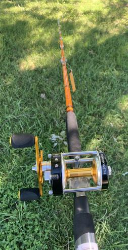 Catfish Pro Tournament Series Rod and Reel Combo MH Action R