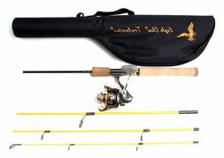 Eagle Claw Trailmaster Spinning Combo and 6 Ball Bearing Spi