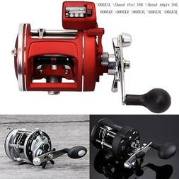 Trolling Fishing Reel Saltwater Right Hand Sea Bait Casting