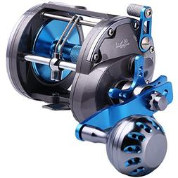 Sougayilang Trolling Reel Saltwater Level Wind Reels,Convent