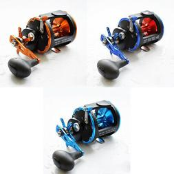 Trolling Reel Saltwater Metal Fishing Reels Conventional Lur