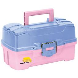 Plano Two Tray Fishing Tackle Box - Model: 6202-92 - Pink/Pe