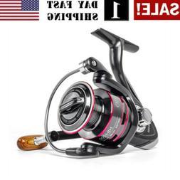 USA! Metal Spinning Reel 8KG Max Drag Line Spool Saltwater F