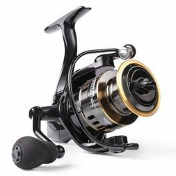 US! Fishing Reel HE1000-7000 Max Drag 10kg High Speed Metal