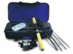 voyager spinning rod and reel travel kit