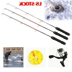 Winter Mini Fishing Rods Ice Fishing Reels Pen Pole Fishing