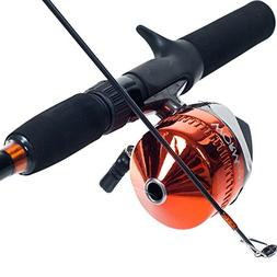 South Bend Worm Gear Fishing Rod and Spincast Reel, Combo-Re